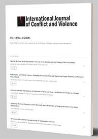 International Journal of Conflict and Violence, Vol. 14 No. 2 (2020)